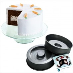 MOLDE CAKE PAN SET CUADRADO Wilton