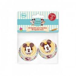 CAPSULAS MINI CUPCAKES MINNIE Y MICKEY x 60 Disney