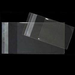 BOLSAS DE CELOFAN con CIERRE ADHESIVO 10x15 cm.