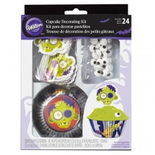 KIT PARA DECORAR CUPCAKES MURCIELAGO Wilton