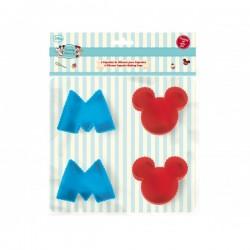 MOLDE SILICONA CUPCAKES MICKEY Disney x 4