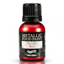 PINTURA METALICA Rainbow Dust ROJA