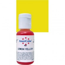 COLORANTE GEL AMARILLO LIMON Americolor
