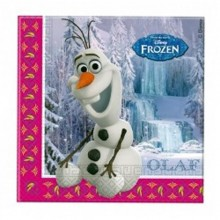 SERVILLETAS FROZEN 33x33 cm. PACK x20