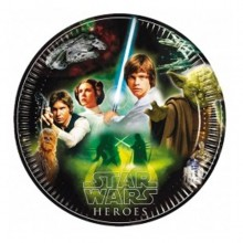 PLATOS Star Wars HEROES 23 cm. PACK x8