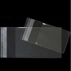 BOLSAS de CELOFAN con CIERRE ADHESIVO 8x12 cm.