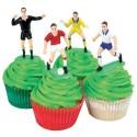 Set decoración futbol para tartas, PME