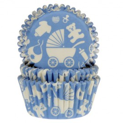 Capsulas House of Marie Azul claro con motivos de bebe