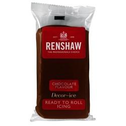Fondant Renshaw sabor chocolate 500 gr.