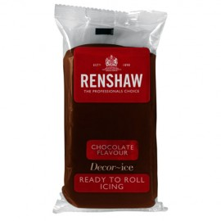 Fondant Renshaw sabor chocolate 250 gr.