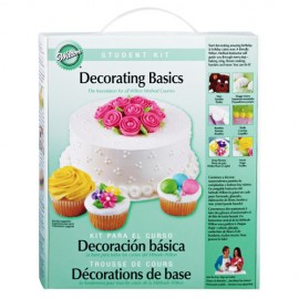 Kit Decoración Básica de Wilton. Curso 1