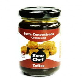 Aroma en pasta Home Chef sabor a Toffee. Peso neto 170 grs.
