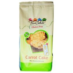 Mezcla para bizcochos de Zanahoria Sin Gluten FunCakes 500 grs.