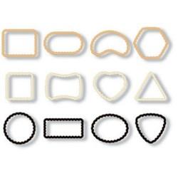 Cortantes mini de galletas con diferentes formas, 12 uds. Tescoma