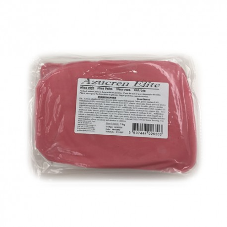 FONDANT Azucren Elite ROSA CHICLE 1 Kg.