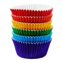 cupcakes, moldes cupcakes, magdalenas, Capsulas Wilton colores primarios aluminio x 72 ud.