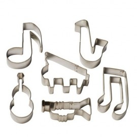 SET CORTANTES MUSICALES x 6