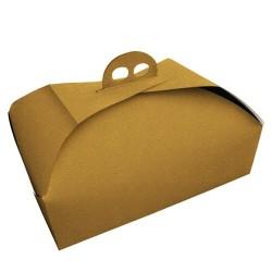 Caja rectangular con asas para tartas