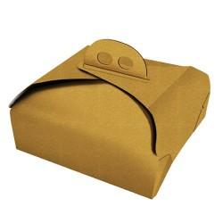 Caja cuadrada para tartas con asas