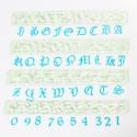 Cortantes alafabeto y numeros letra inglesa Fmm