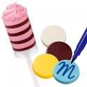 molde plastico chocolate, molde bombones caramelos, wilton
