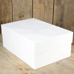 Caja para Tartas rectangular BLANCA 30x40x15 cm