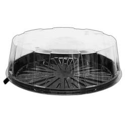 CAJAS para TARTAS, caja plástico redonda