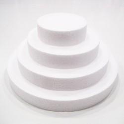 Base redonda de poliespan para tartas 35 x 3 cm.