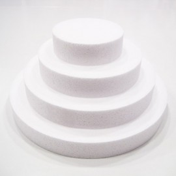 BASE POLIESPAN REDONDA, base poliespan para tartas