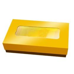 caja bombones, color dorado