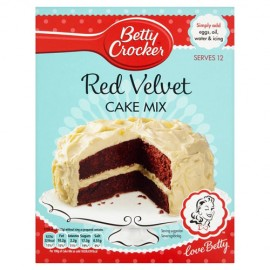 PREPARADO Betty Crocker BIZCOCHO RED VELVET