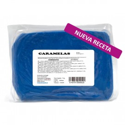 Fondant Caramela's color azul azulejo, tartas fondant