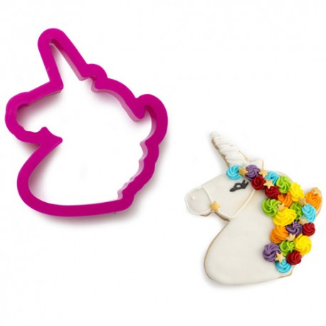 CORTANTE Decora CABEZA UNICORNIO