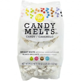 CANDY MELTS Wilton BLANCO BRILLANTE 1 Kg.