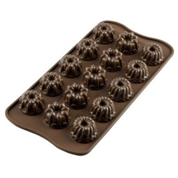 MOLDE SILICONA BOMBONES CHOCOLATE Silikomart BUNDT