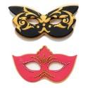 CORTANTE MASCARAS, galletas mascaras carnaval, Decora