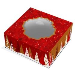 CAJA para ROSCON NAVIDAD, caja tartas