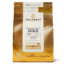 Callets Callebaut Chocolate ORO 2.5 k