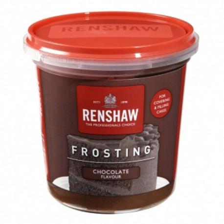 FROSTING Renshaw CHOCOLATE 400 grs.