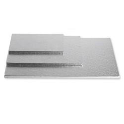 BASE RECTANGULAR PLATA 40x60x1 cm.