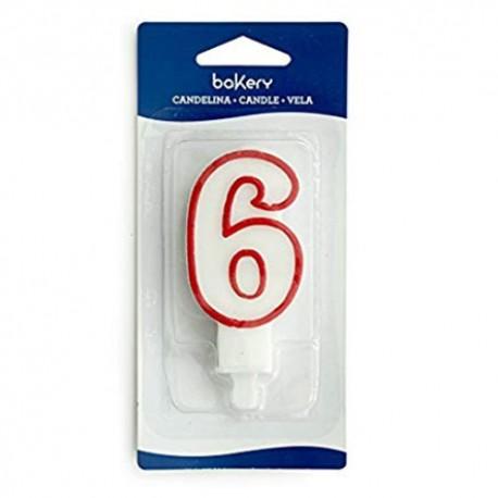 vela cumpleaños Nº 6, Bakery