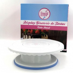 PLATO GIRATORIO SweetKolor, base giartoria decoracion tartas