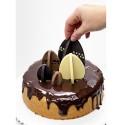 MOLDE SILICONA Lekue HUEVO PASCUA 3D, molde huevos de pascua chocolate