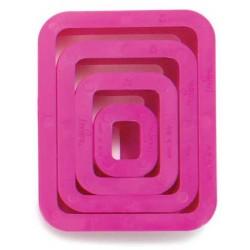 CORTANTE RECTANGULAR, Decora, galletas rectangulares