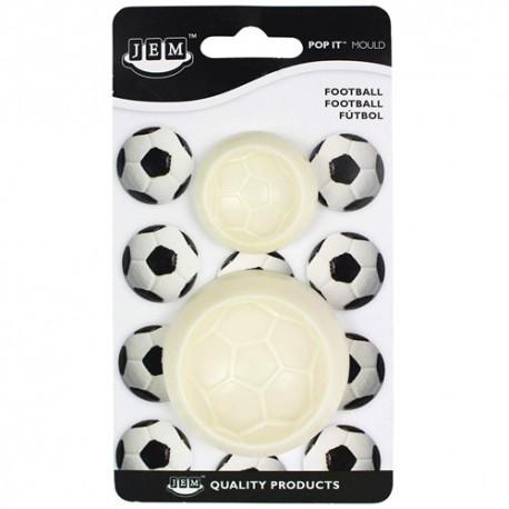 CORTANTE BALON FUTBOL, molde pelota de futbol