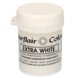 COLORANTE Sugarflair BLANCO EXTRA 50 grs.
