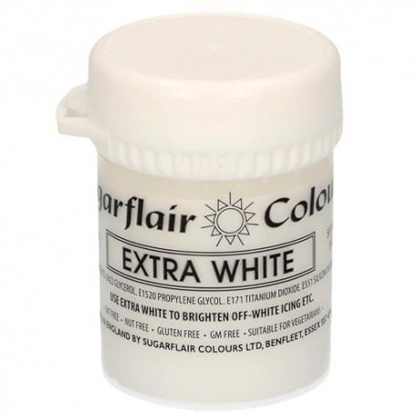 colorante blanco extra, sugarflair