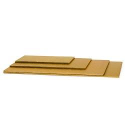 BASE RECTANGULAR ORO 30x40x1 cm.