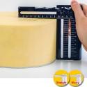 Starter Set Edgy Dekofee ALISADOR BORDES PERFECTOS TARTAS, crema mantequilla, ganache, glaseado
