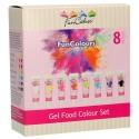 COLORANTES en GEL FunCakes, color fondant, colorante alimentario